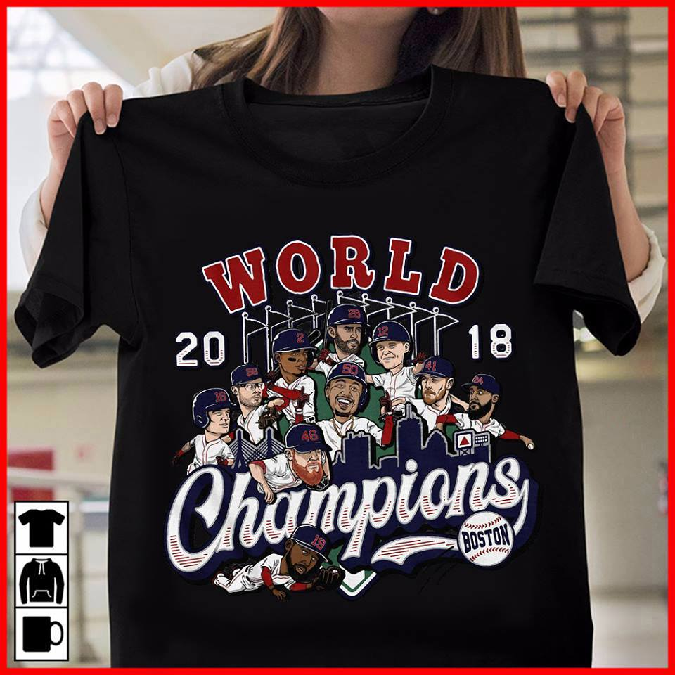 Boston 2018 world champions shirt