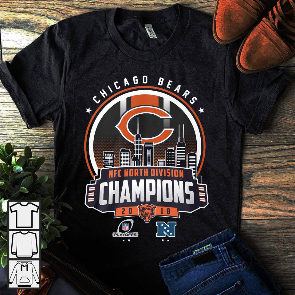 Chicago bears north division champions shirt hoodie jpg 960x960 North  division nfc champions 2018 sweatshirts 8c2f001f8