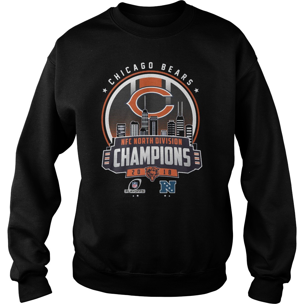 cf48a90ea ... into worthless LiberalsI thought I was going to a funeral when Trump  won that was sadObama the Chicago Bears NFC north division champions 2018  shirt ...