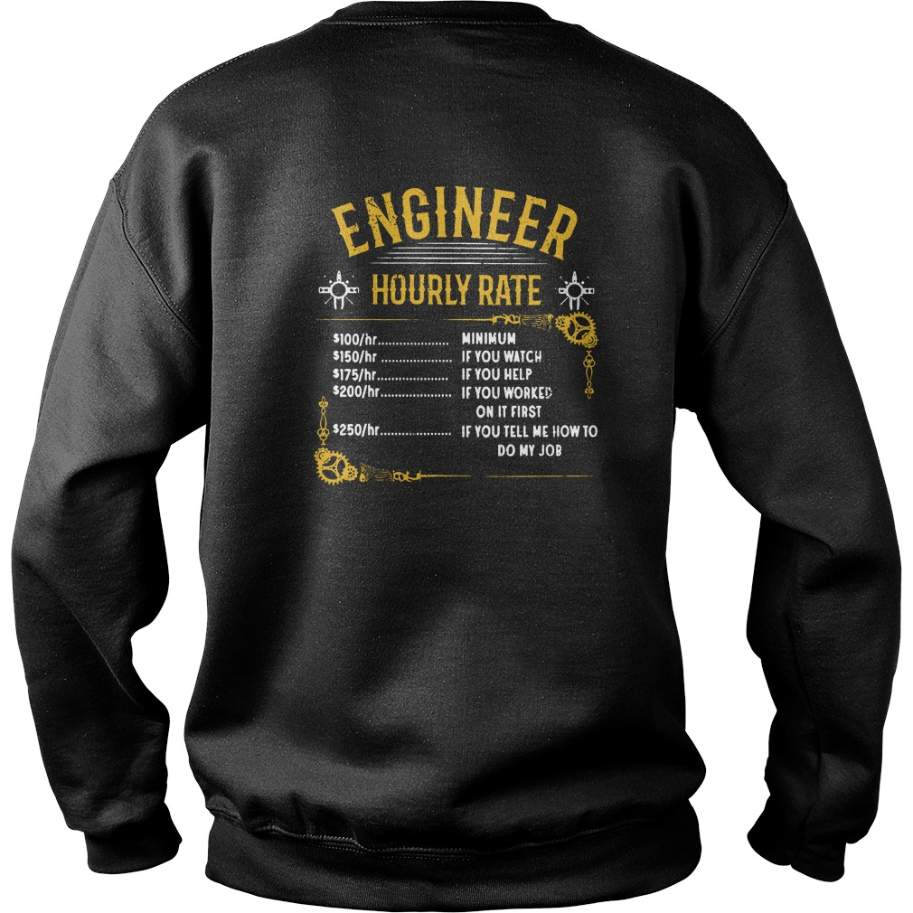 Engineer hourly rate sweater