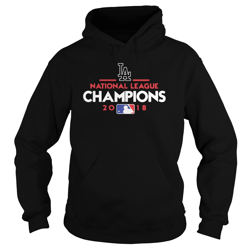 Los Angeles national league champions 2018 hoodie
