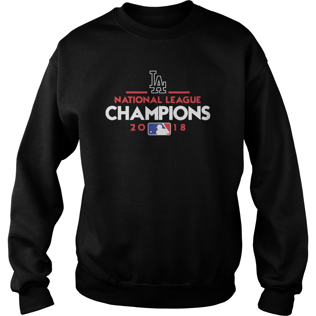 Los Angeles national league champions 2018 sweater