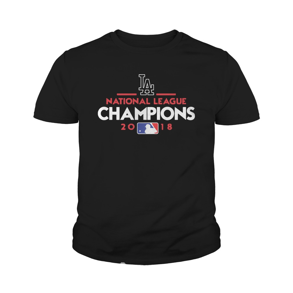 Los Angeles national league champions 2018 youth tee
