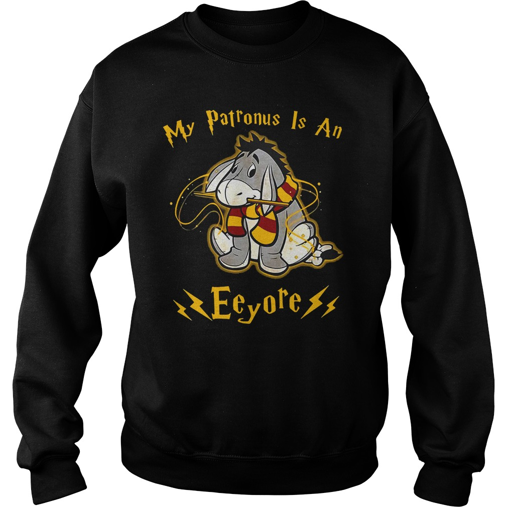 My patronus is an Eeyore sweater