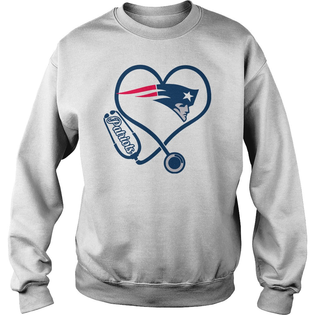 Nurse love New England Patriots sweater