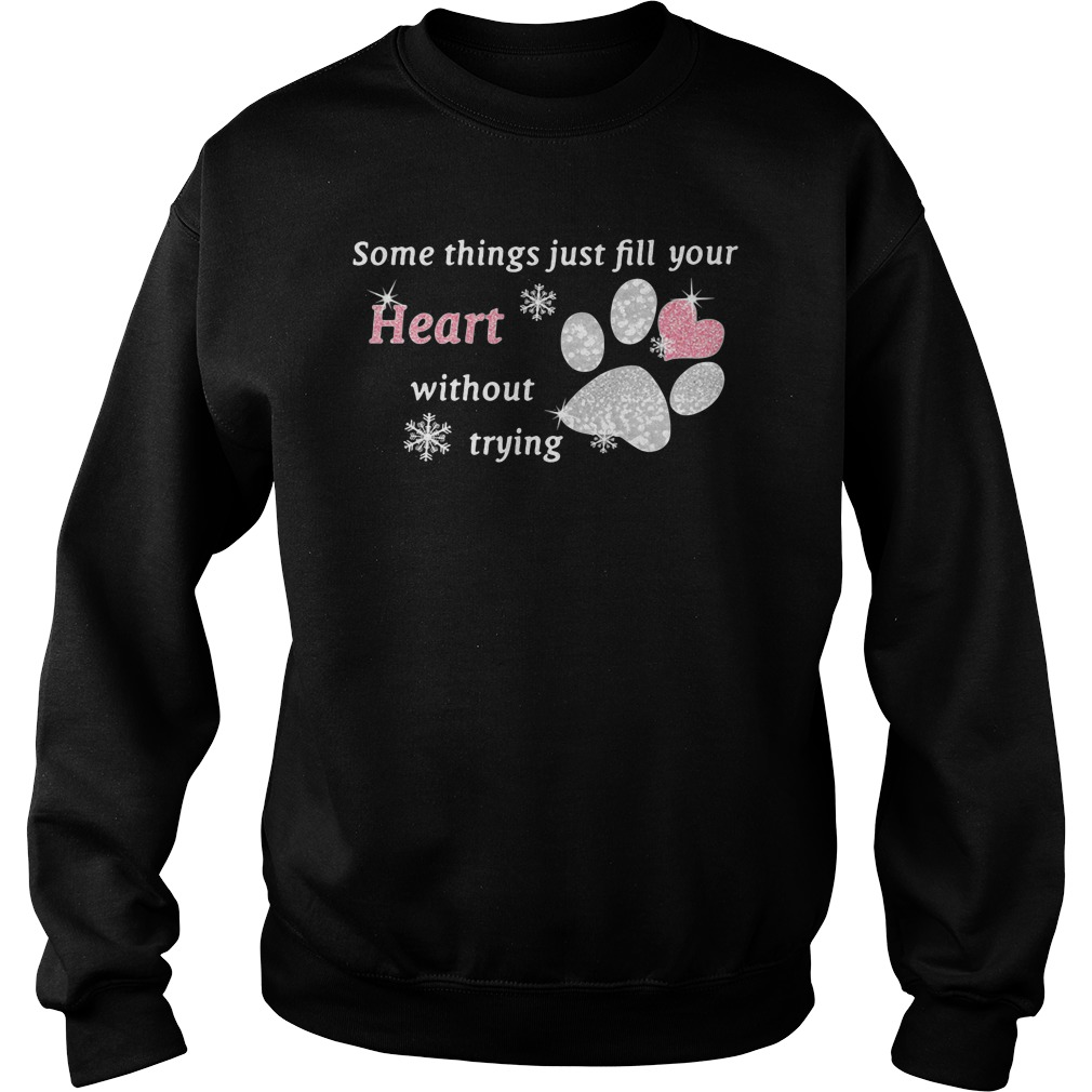 Some things just fill your heart without trying paw sweater
